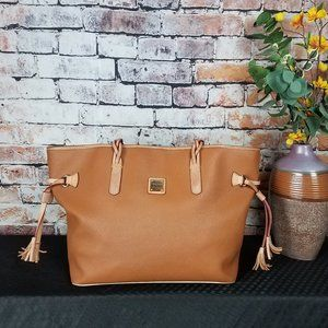 DOONEY & BOURKE BAILEY BROWN XL LEATHER TOTE